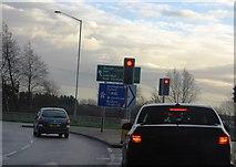 TQ0485 : Denham Road Roundabout by N Chadwick
