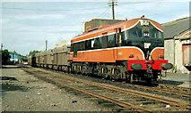 N8767 : Tara Mines train, Navan (1990) by Albert Bridge