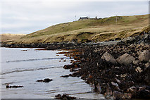HU3691 : Benigarth, beside Sand Voe, North Roe by Mike Pennington
