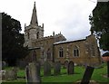 SK8110 : St John the Baptist Cold Overton by Andrew Tatlow