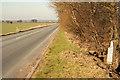 SE4815 : Roman Ridge by Richard Croft