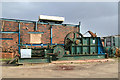 SJ8248 : Apedale Heritage Centre - compressed air winch by Chris Allen
