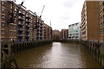 TQ3379 : St Saviour's Dock in Bermondsey by Steve Daniels