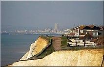 TQ4100 : Cliffs at Peacehaven (2) by nick macneill
