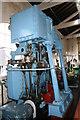 SJ4077 : Steam engine - National Waterways Museum by Chris Allen