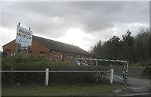 NZ2440 : Brandon Cricket Club premises by peter robinson