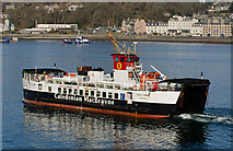 NM8529 : Loch Linnhe departs Oban for Lismore by The Carlisle Kid