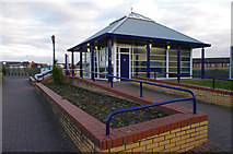 SD4364 : Morecambe Station by Ian Taylor