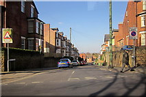 SK5640 : Seely Road Junction With A6200 Derby Road, Nottingham by Roy Hughes