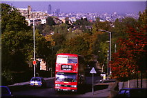 TQ3472 : Sydenham Hill in 1985 by Malc McDonald