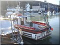 NO8785 : Lady Gail II in Stonehaven's inner basin by Stanley Howe