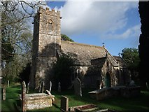 ST5308 : Church of St Juthware and St Mary, Halstock by Tim Heaton