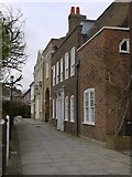 TQ3296 : Gentleman's Row, Enfield: view north towards Archway House by Stefan Czapski