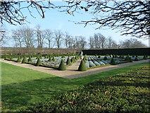 TQ1773 : The Cherry Garden at Ham House by Alexander P Kapp