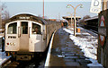 TQ4591 : Train, Hainault station (1982) by Albert Bridge