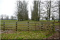 SP3921 : Footpath through Ditchley Park by Graham Horn