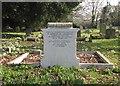 TL4268 : Rampton: All Saints - bomber crew memorial by John Sutton