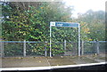 TQ5446 : Leigh Station sign by N Chadwick