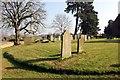 SJ3660 : The Churchyard of St Mary's Church, Dodleston by Jeff Buck