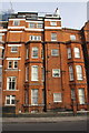 TQ2779 : Houses on Brompton Road by Roger Templeman