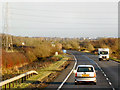 NY1767 : Eastbound A75, West of Annan by David Dixon