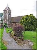 SO8090 : Holy Cross Church, Bobbington by P L Chadwick