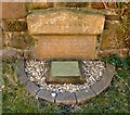 NS3975 : Gravestone of Captain James Lang by Lairich Rig
