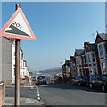 ST1067 : 20% descent ahead on Miskin Street, Barry by Jaggery