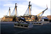 SU6200 : HMS Victory De-rigged 2012 by Peter Skynner