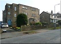 SE1421 : Houses, Woodhouse Lane by Humphrey Bolton