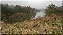 SE3629 : River Aire by Chris Morgan