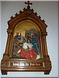 SP4540 : St John the Evangelist, Banbury: 3rd Station of the Cross by Basher Eyre