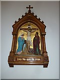 SP4540 : St John the Evangelist, Banbury: 12th Station of the Cross by Basher Eyre