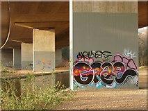 TQ0562 : M25 viaduct by Alan Hunt
