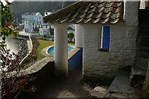 SH5837 : Portmeirion, Gwynedd by Peter Trimming