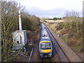 TM4069 : Train on its way to Darsham Station by Adrian Cable