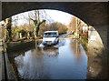 SU7878 : Flood Under The Bridge by Des Blenkinsopp