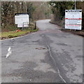 ST4491 : Conditions of use, Five Lanes Household Waste Recycling Centre near Caerwent by Jaggery
