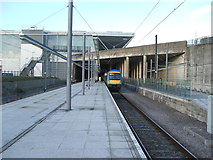 TL5523 : Stansted Airport railway station by Nigel Thompson