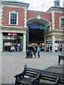 SP4540 : Entrance To Castle Quay Shopping Centre by Paul Gillett