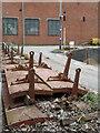 ST5772 : Abels Boatyard, Bristol - mystery objects by Chris Allen