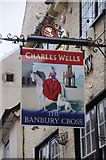 SP4540 : The Banbury Cross by Philip Halling