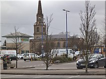 SO9198 : St Johns Retail park View by Gordon Griffiths