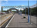TM1721 : Thorpe-le-Soken railway station by Nigel Thompson