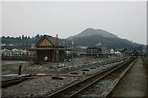 SH5738 : Harbour Station, Porthmadog, Gwynedd by Peter Trimming