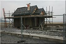 SH5738 : Relay Box, Harbour Station, Porthmadog, Gwynedd by Peter Trimming