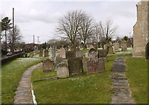SK5276 : Graveyard in Whitwell by Trevor Littlewood