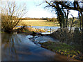 SU5377 : Flood in Hackney Bottom 2 by Des Blenkinsopp