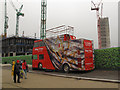 TQ3083 : The Kings Cross viewing bus by Stephen Craven