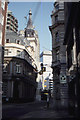 TQ3281 : Lombard Street, looking towards St Edmund King and Martyr by Christopher Hilton